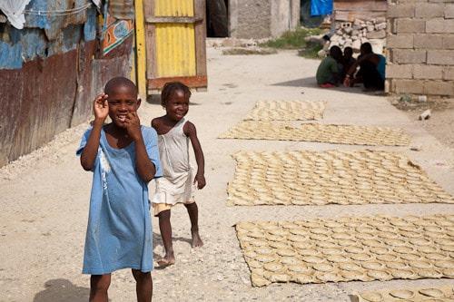mud cake in haiti