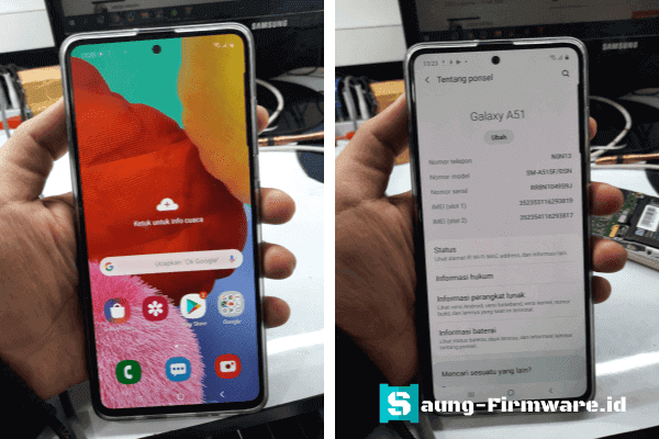 Bypass FRP Samsung A51 SM-A515F Android 10 Security Patch 2020