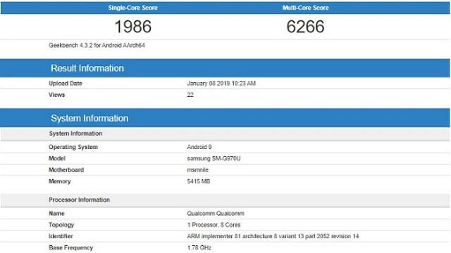 الكشف عن مواصفات هاتف سامسونج القادم Galaxy S10 Lite