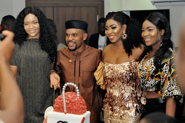 "Photos from Vivian Lam Birthday Dinner in Abuja  Kenneth Okonkwo, Empress Njamah, Isabella Ayuk, Others At Vivian Lam birthday Dinner  The Wine and Dine Birthday Party, hosted and organised by Nigeria Publisher, Pageant Consultant and Writer, Her Majesty, Vivian Lam was fun, as it was witnessed and attracted several distinguished Abuja showbiz personalities which includes Nollywood stars, Beauty Queens, Entertainers and other prestigious persons across diverse sectors.  Speaking briefly with the celebrant, Vivian Lam told our correspondents that the Wine and Dine birthday party was organised to express her rekindled affection for friends, colleagues and sponsors that have been quite resourceful to the growth and promotion of her brand as well as herself.  She appreciated everyone who made out time to grace her dinner party, stressing that on this significant day of her life, she would remain thankful to God almighty who has been the source of her strenght, opportunities and breakthroughs.  However, the party had several funlike events that cuts across comedy, presentations, photoshoots and other lively and social networking that made the gathering worth a while.  The Celebrant Vivian Lam has received gifts, goodwill messgaes, honours, awards and commendable applauds on the achievements and successes she has received over the years, especially in career as a publisher and writer. As a Pageant Consultant and Event host, she has impacted and mentored young talents.   *""The Wine and Dine Birthday was indeed an event that throw my thoughts into these memory lanes""*."