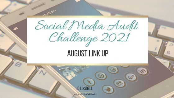 2021年社交媒体审计挑战:8月链接