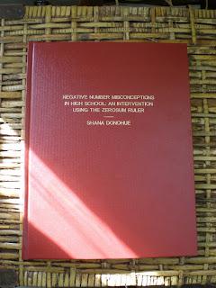 Shana McKay (Shana Donohue) graduate thesis