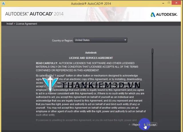 huong dan cai dat Autocad 2014