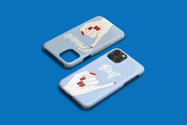 Mockup 3D Case  iPhone 11 Pro