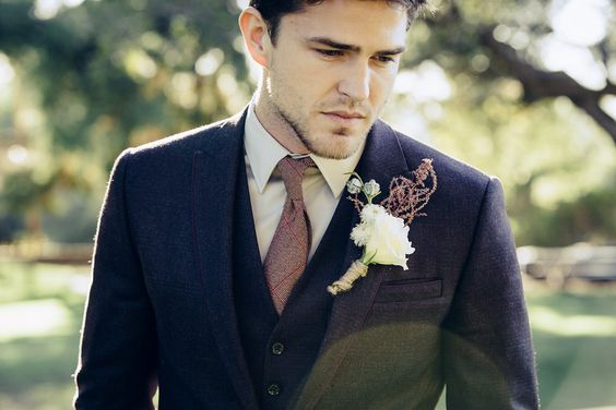 como se debe vestir un novio para su boda ?? - elegantísimo