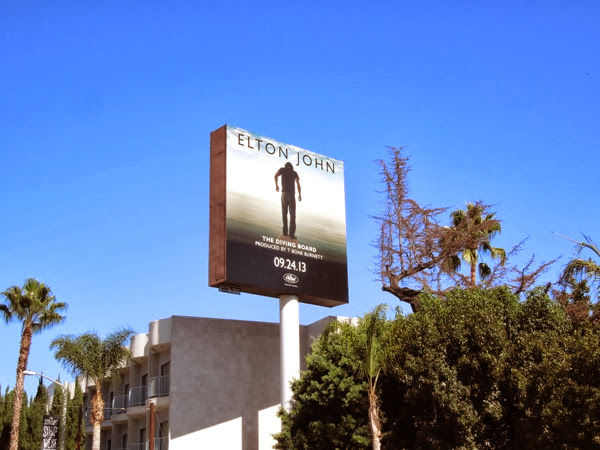Elton John Diving Board album billboard
