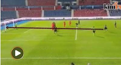 Video Gol Sepakan Percuma Yang Cantik Dari TMJ Buat Penjaga Gol Tergamam