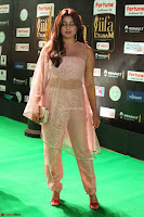 Nidhi Subbaiah Glamorous Pics in Transparent Peachy Gown at IIFA Utsavam Awards 2017  HD Exclusive Pics 66.JPG