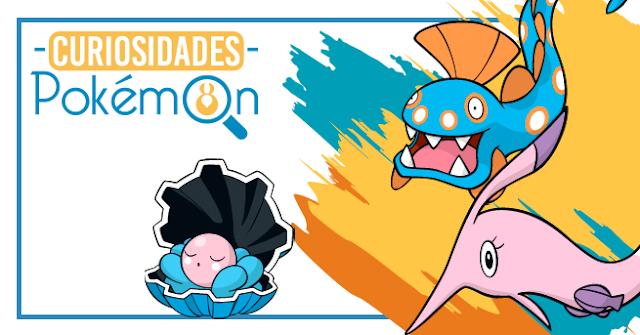 Curiosidades Pokémon: Clamperl, Huntail e Gorebyss