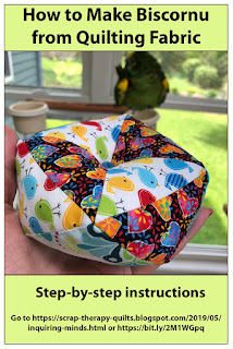 How to Make Biscornu from Quilting Fabric