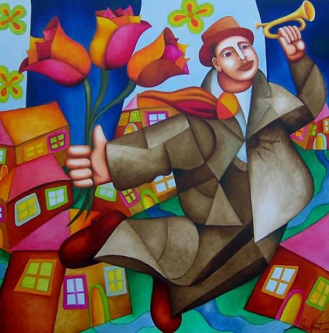Philippe Loubat. Современный французский художник 11
