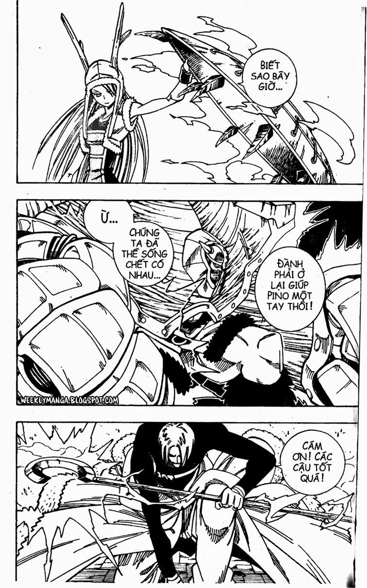 Shaman King [Vua pháp thuật] chap 134 trang 12