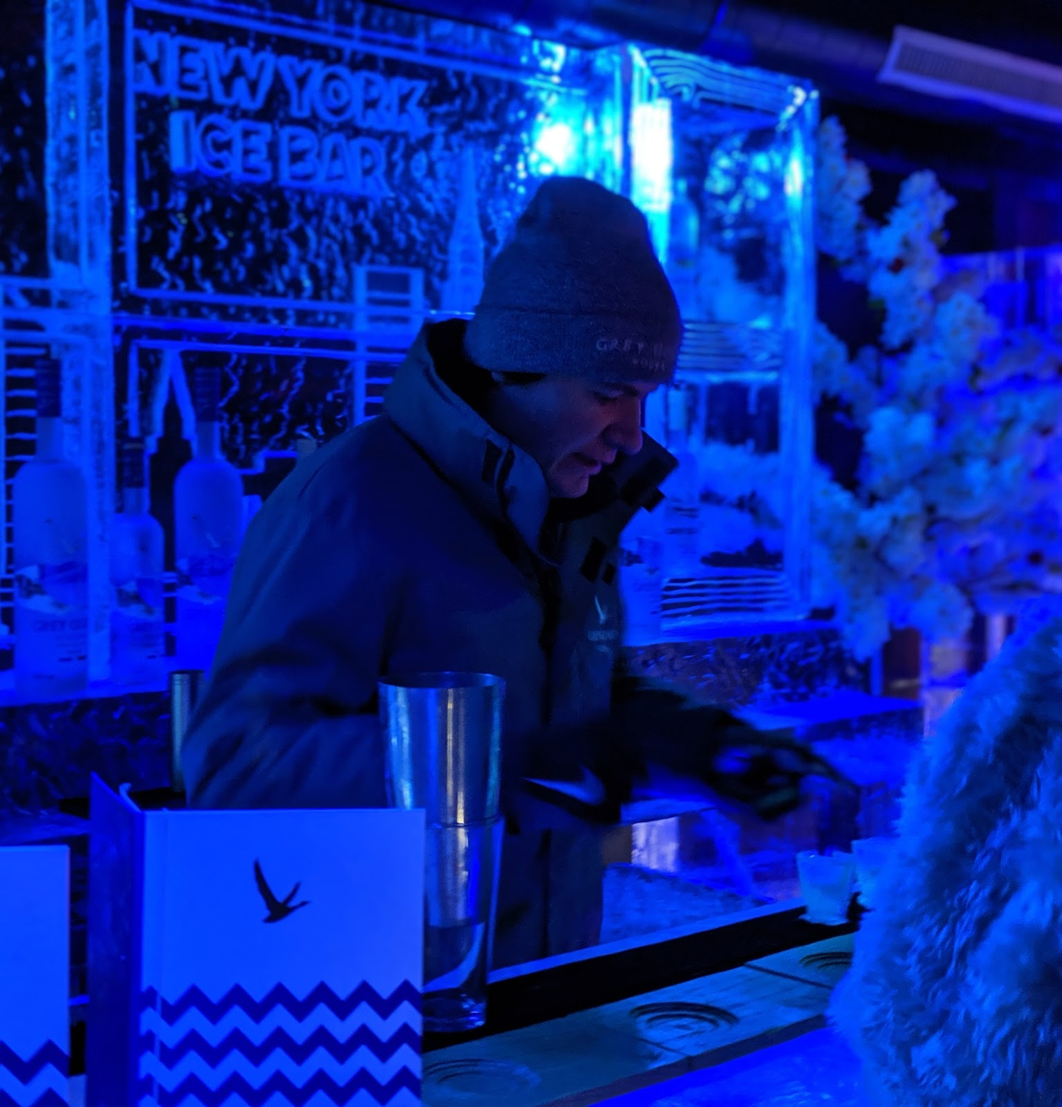 The Ice Bar at STACK Newcastle Review  - bar
