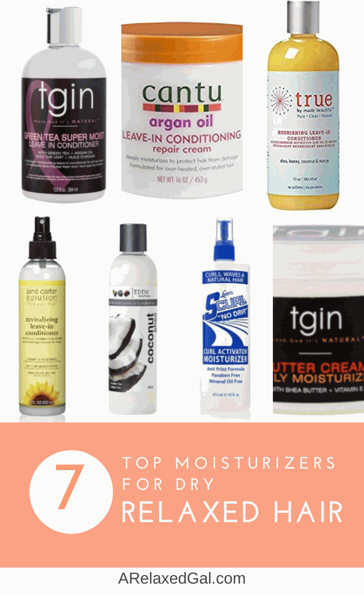 Top 7 Leave-in Conditioners And Moisturizers For Relaxed Hair | A Relaxed Gal