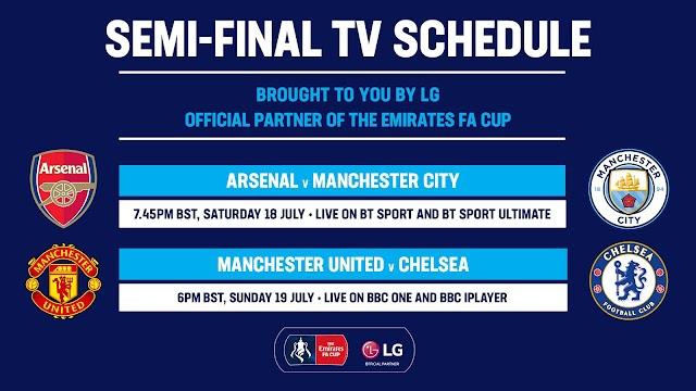 FA CUP Semi-Final Preview