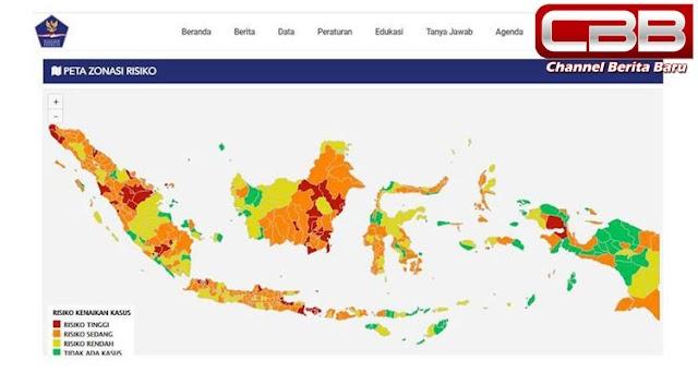 Daftar Kawasan Zona Merah Covid-19 di Indonesia, Bali Terbanyak dengan 8 Kabupaten/Kota
