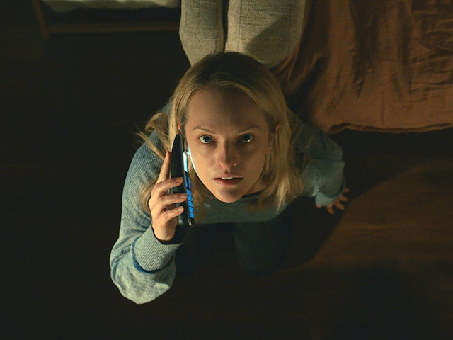 Insible Man Leigh Whannell Screenshooter  Elisabeth Moss