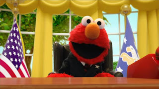 Elmo the Musical President the Musical, Elmo President of the United States, the Red House, Sesame Street Episode 4319 Best House of the Year season 43