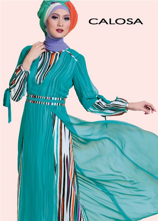 10 Trend Baju Muslim Syar 39 I Bahan Brokat Model Sekarang 2016