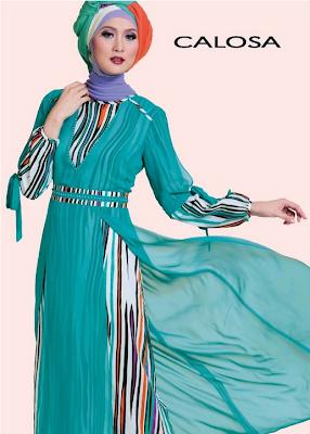 Trend Baju Muslim Syar'i Bahan Brokat Model Sekarang