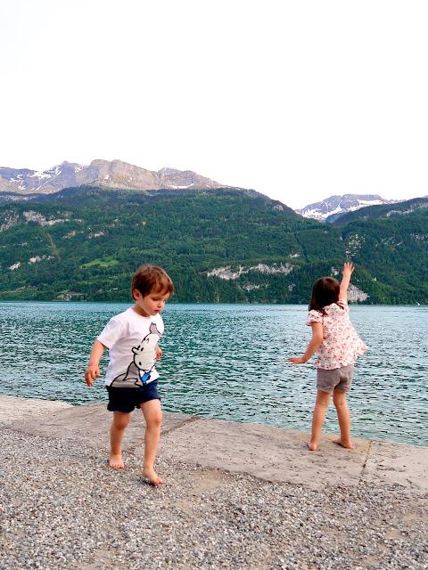 lago de Brienz Suiza