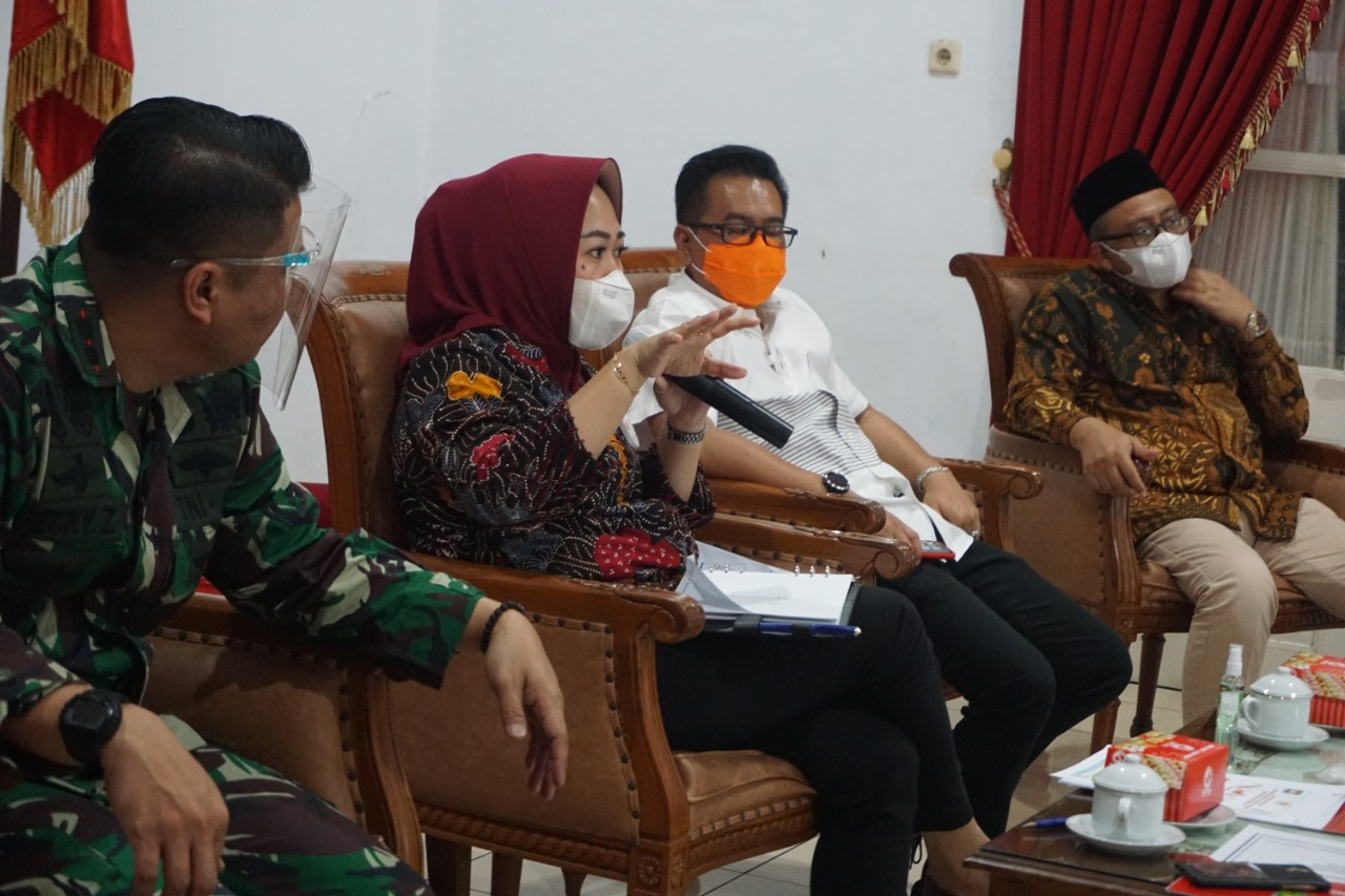 Dandim Purbalingga Turut Hadiri Rapat Rencana  Penerapan PSBB di Purbalingga