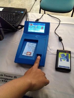 chip card reader ektp