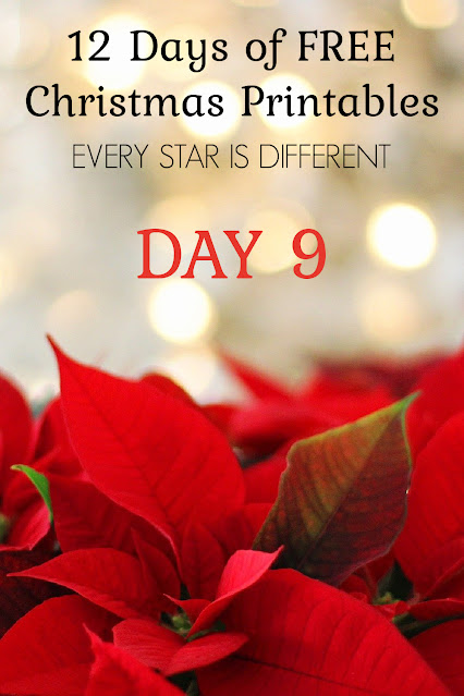 12 Days of FREE Christmas Printables: How to Change an Improper Fraction to a Mixed Number Visual