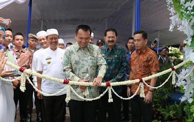 Gubernur Ridho Resmikan Tiga Gedung Baru RSUD Abdul Moeloek