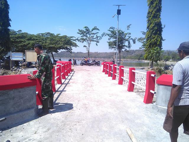 Dandim Klaten Berharap Warga Merawat Jembatan Yang Dibangun melalui TMMD
