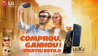 Promoção Comprou, Ganhou! #PartiuEstilo LG K8