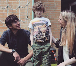 Anya Reeve with her husband Simon & their son Jake