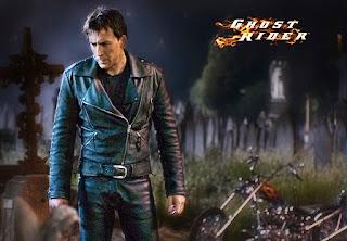 Gambar Jacket Kulit Ghost Rider