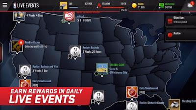 NBA LIVE Mobile v1.2.4 MOD APK Terbaru 2016