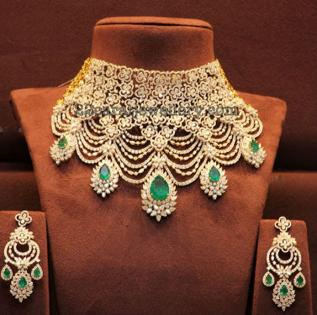 Diamond Set by Musaddilal Gems Banjarahills