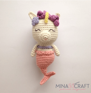 unicorn mermaid crochet pattern