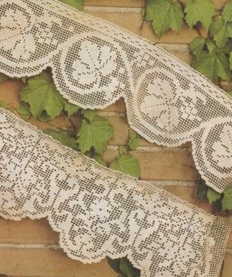 Professione donna schemi per il filet bordure for Schemi bordure uncinetto per lenzuola