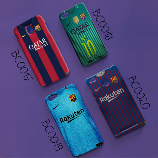 case design barcelona warna hijau