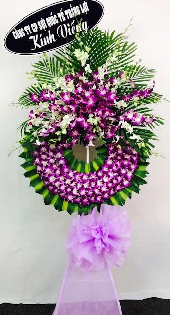 hoa chia buồn đám tang đẹp nhất