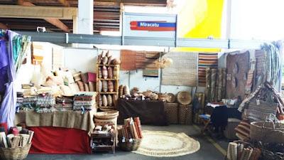 Artesanato de Miracatu no Revelando SP 2018
