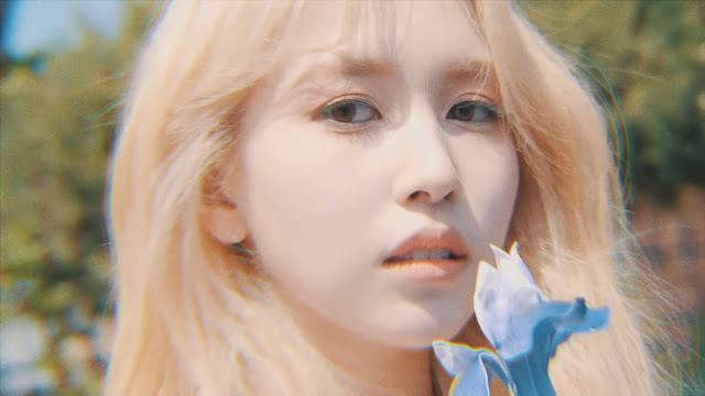 Twice Mina More and More Concept