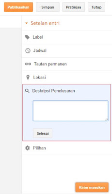 Cara Optimasi SEO On Page Pada Blogspot, Teknik SEO On Page