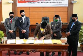 DPRD Kapuas Hulu Setujui 4 Raperda Eksekutif