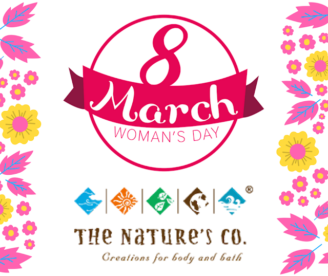Celebrate International Women's Day - 2017 with The Nature's Co. | Most Trusted Vegan Skincare Brand