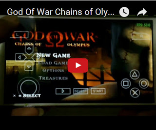 Gameplay God Of War Chains Of Olympus ISO PPSSPP