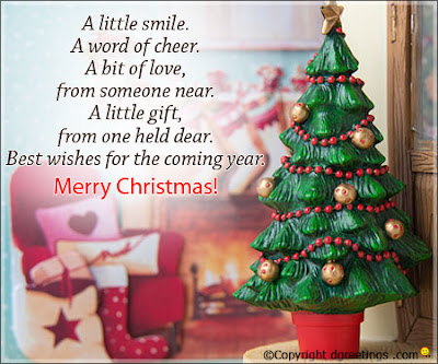 Merry Christmas Messages Image