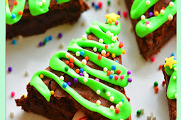 Easy Delicious Tree Brownies Recipe