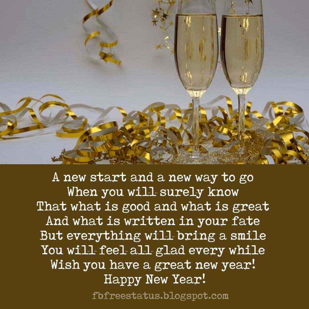 Happy New Year Wishes Messages, Greeting and New Year Wishes Images.