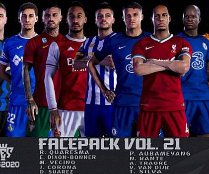 PES 2020 Facepack Vol. 21