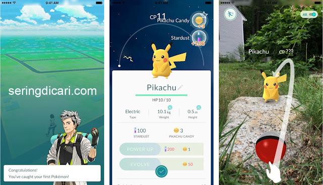 Cara Mudah dan Cepat Mendapatkan Pikachu Pokemon Go
